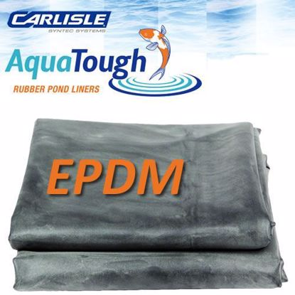Carlisle 45 mil EPDM Pond Liners 25' wide